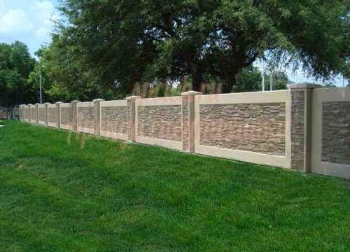Забор из бетона. Выгодно.
